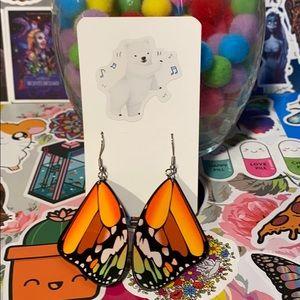 5/$25 Butterfly Earrings